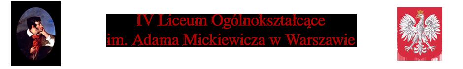 IV Liceum Ogólnokształcące im. A.Mickiewicza